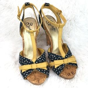 SEYCHELLES T-Strap Heel